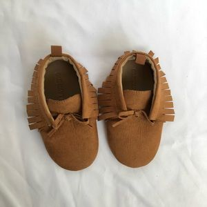 Baby girl moccasin booties 18-24 month
